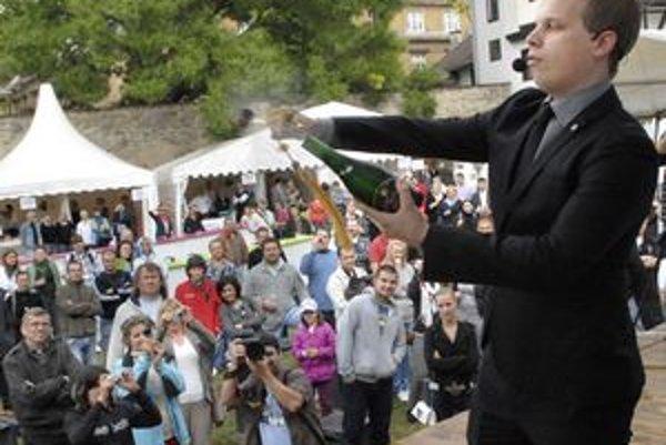 Svoje umenie predviedol na Gurman feste Košice 2011.