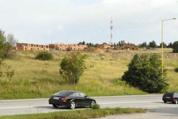 Mesto Košice. Obytný komplex nad Furčou pred Košickou Novou Vsou.