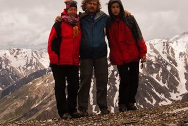 Sedlo Acunta (3440 m n. m.) bolo najťažším úsekom na našej ceste.