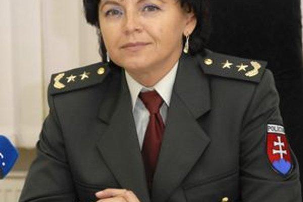 Jana Baranová. Košická krajská šéfka polície.