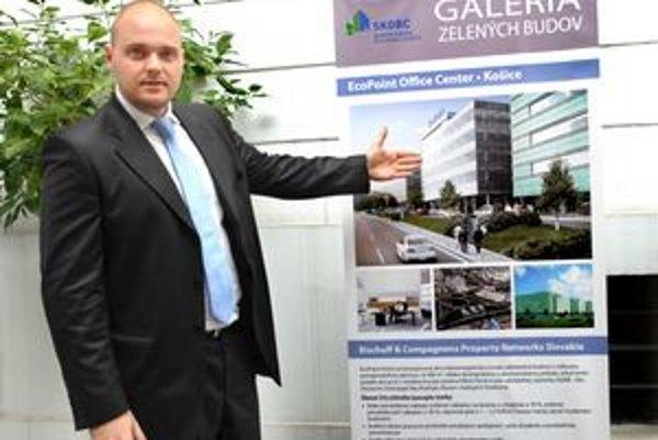 Ekonomické stavby. Peter Kysela predstavil projekt prvej zelenej budovy.