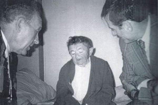 Ľ. Feld na stretnutí a Kalmánom a jeho priateľom.