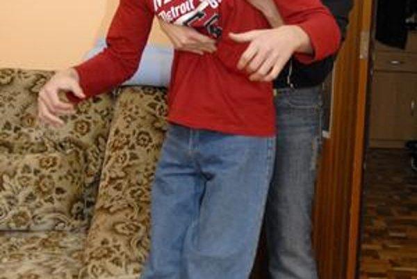 Slávka Tóthová so synom Norbertom.