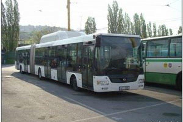 Vozidlový park DPMK posilnili dva autobusy.