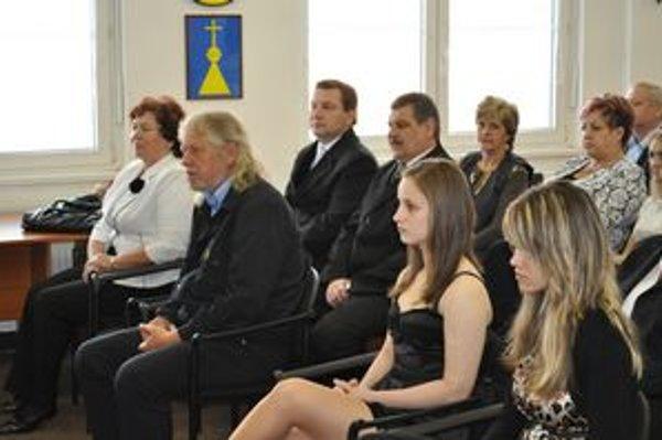 Ocenení. Medzi nimi nechýbali ani športovkyne a zástupkyňa speváckeho zboru.