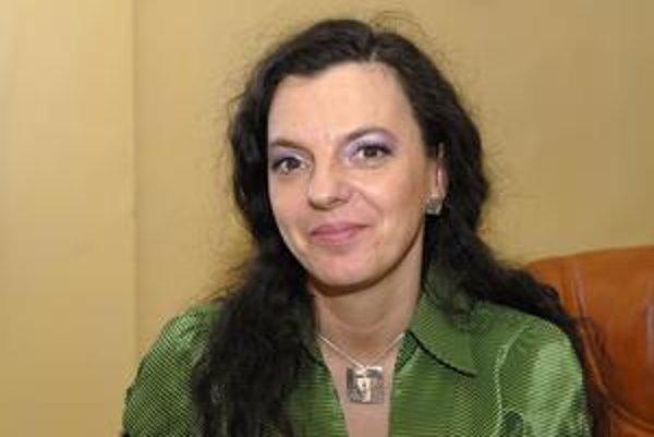 Starostka Adriana Balogová.