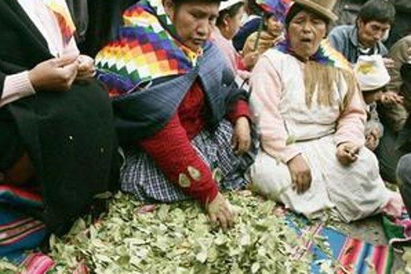 Koka sa dá v Peru kúpiť takmer na každom kroku.