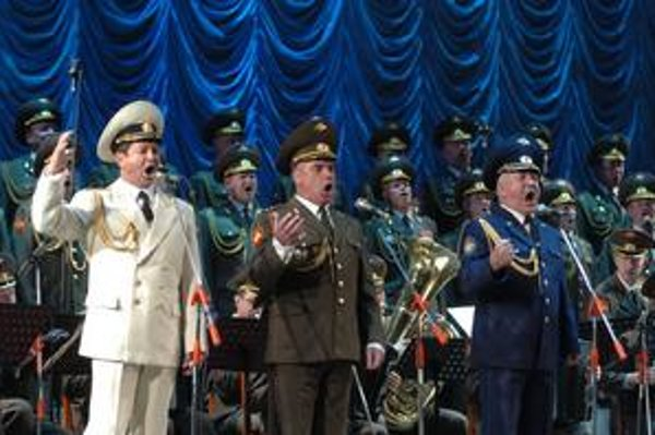 Najznámejší ruský zbor. Alexandrovci majú na Slovensku úspech. Objavia sa tu už po niekoľkýkrát, teraz však s novou šou.