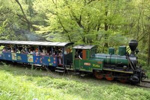 Detská železnička v Čermeli.