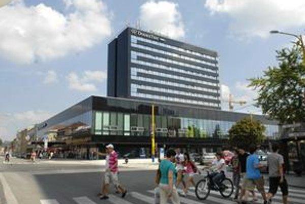 Prestavba hotela Slovan na Hilton. Podľa architektov je to najhoršie, čo mestu za posledné roky pribudlo.