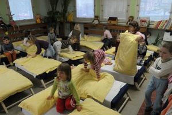 Aký presne bude záujem o umiestnenie dieťaťa do materskej škôlky, bude jasné až po ukončení zápisu.
