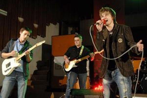 Tomáš so svojou kapelou vo finále 26. ročníka Košického zlatého pokladu.