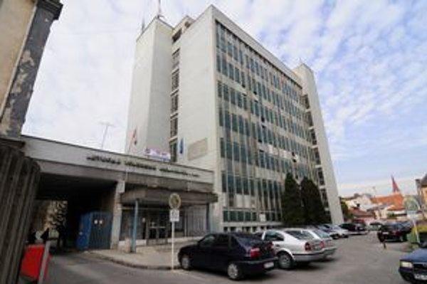Letecká vojenská nemocnica v Košiciach.