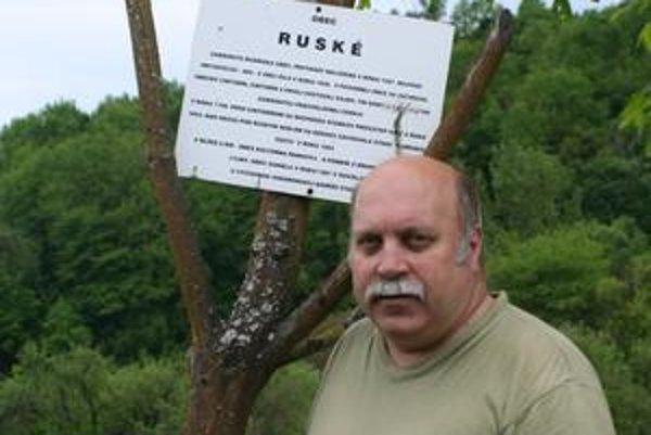 Sergej Mochancký. Po dedinke Ruské, kde sa narodil, zostala iba spomienka. Ustúpiť musela Starine.