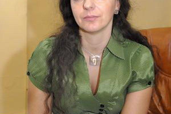 Adriana Balogová. Starostovať bude i naďalej.