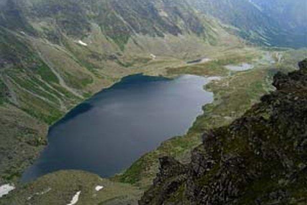 Veľké Hincovo pleso je najväčšie a najhlbšie na Slovensku  (20,08 ha, 53 m)