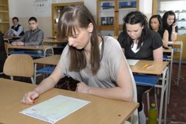 Táto otázka zrejme napadla maturantom, keď uvideli testy.