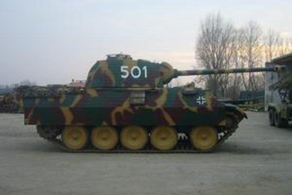 Unikát. Košičania uvidia repliku tanku Panther ako prví na Slovensku.