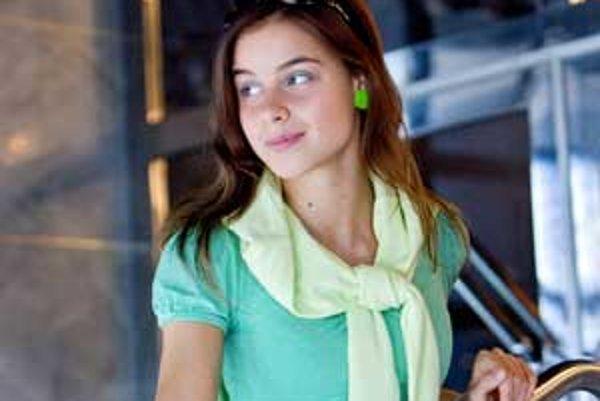 Pohodová tínedžerka Nela.