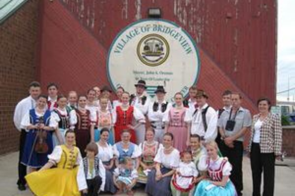 Borievka. Folkloristi si festival v Chicagu dôkladne užili.