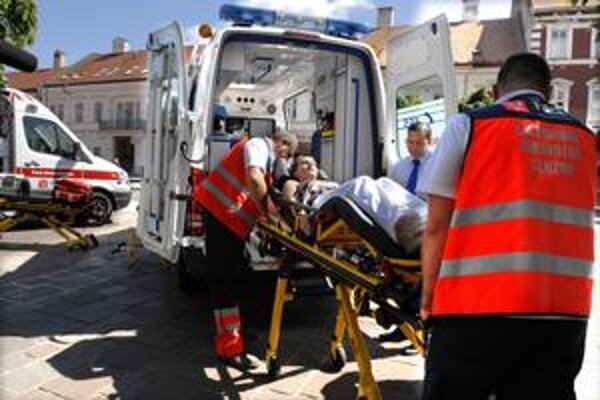 Košické záchranky. S vyjadrením Asociácie poskytovateľov záchrannej zdravotnej služby nesúhlasia.
