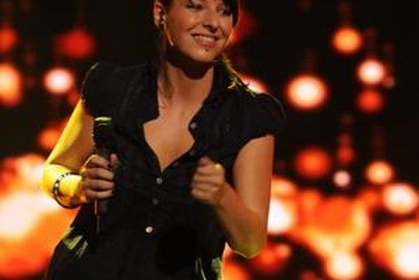 Prvá vyradená Košičanka. Dominika Maščuchová už bude spievať len vo svojej kapele.