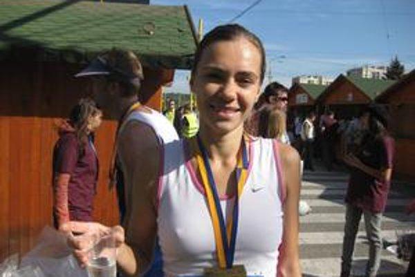 V cieli svojho druhého maratónu v kariére...
