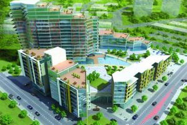 Projekt Central parku by zmenil zarastené územie medzi nemocnicou a átriovými domčekami pozdĺž Ondavskej na nepoznanie. Pri ceste by stál hotel.