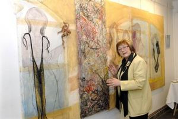 Talentovaná Janka Onušková. Aktuálna výstava je prierezom jej celoživotnej tvorby.