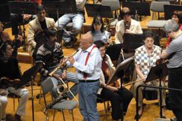 Jedinečný zážitok. Ponúkli Košičanom geniálny klarinetista Giora Feidman a svetoznámy muzikant Peter Breiner.