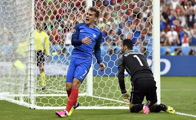 Antoine Griezmann sa stal najlepším strelcom európskeho šampionátu. Zahviezdi aj teraz?