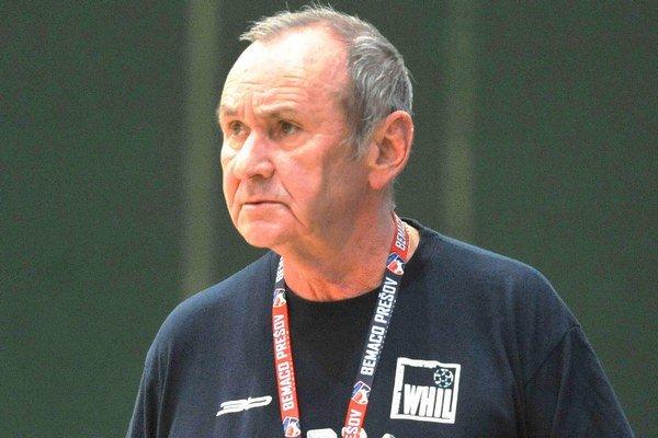 Dušan Daniš. Tréner Prešova.