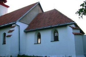 Kostol sv. Imricha. Celkový pohľad zjuhovýchodu.