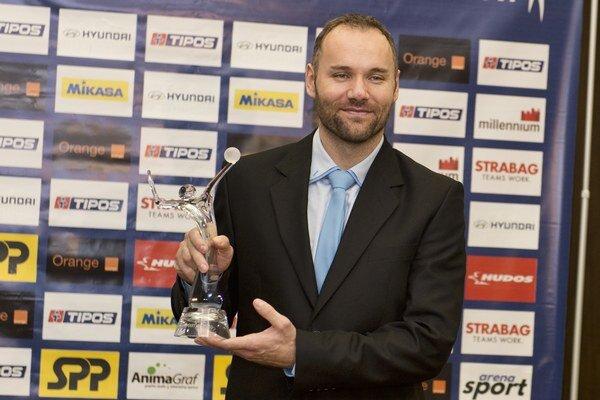 Martin Sopko st. sa stal Volejbalistom roka 2015. Ako prvý Prešovčan v histórii ankety.