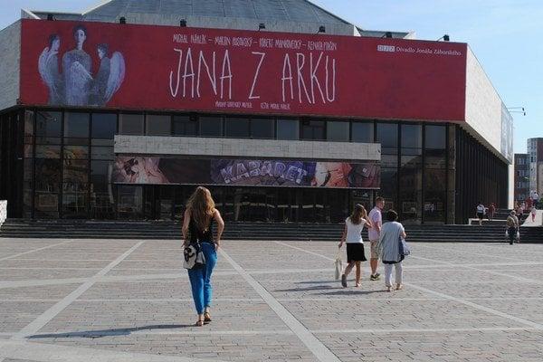 Divadlo Jonáša Záborského.
