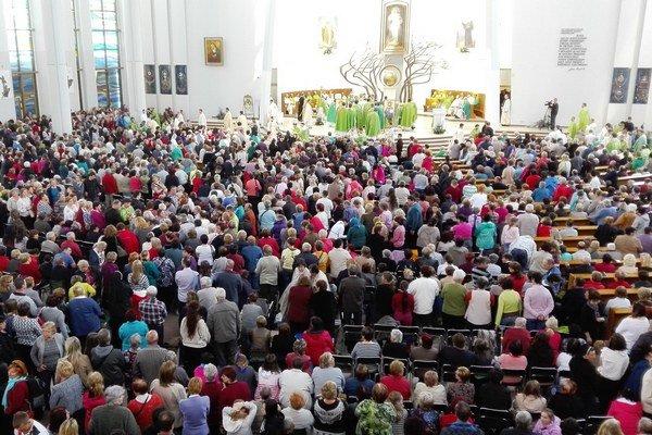 Metropolitná púť v Krakove. V sobotu sa jej zúčastnilo vyše 6-tisíc veriacich.