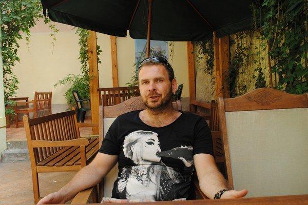 Miroslav Hajduček svet fantázie a rozprávkových bytostí pozná dôverne.