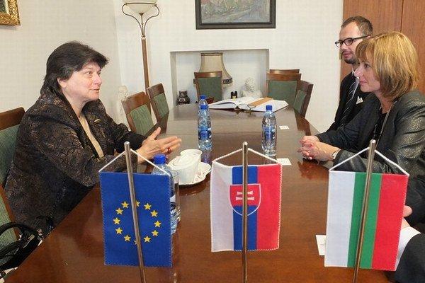 Rokovanie na radnici. O užšej spolupráci medzi Prešovom a Bulharskom.