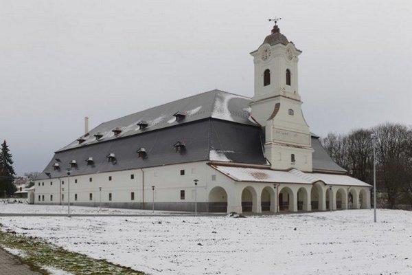 Na snímke historická budova Skladu soli v Prešove.