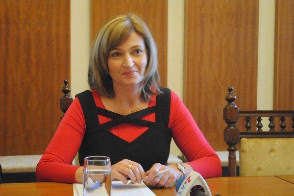 Andrea Turčanová. Prvá žena mesta Prešov.