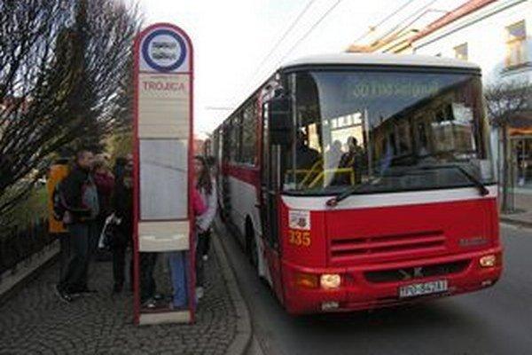 Po Prešove jazdí stovka vozidiel MHD.