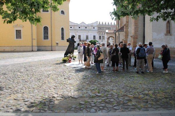 Turisti. V Prešove sa zaujímajú o pamiatky, ale hodnotia aj poskytnuté služby.