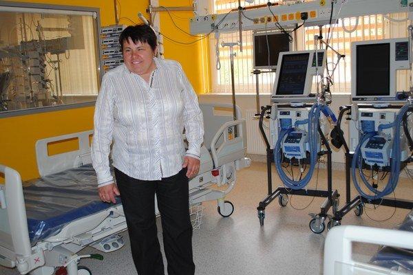 Ľubomíra Romanová. Vraj sa jej splnil sen, na klinike majú nadštandardné vybavenie.