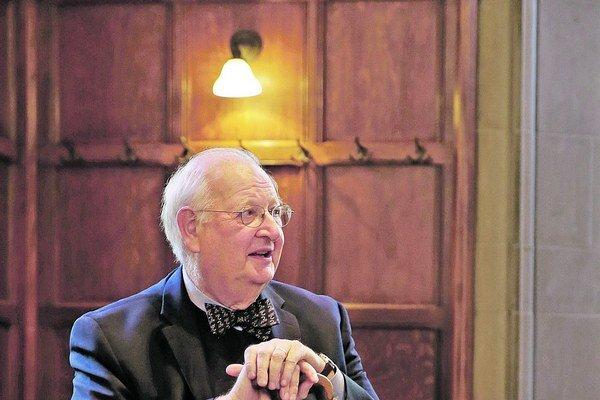 Čerstvý držiteľ Nobelovej ceny za ekonómiu Angus Deaton.