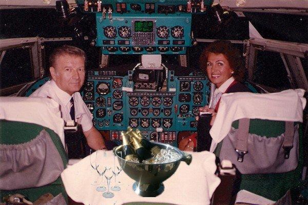 Štefan Ščambura. V kokpitoch dopravných lietadiel sa cítil ako doma.