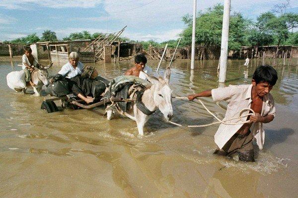 Záplavy v Peru