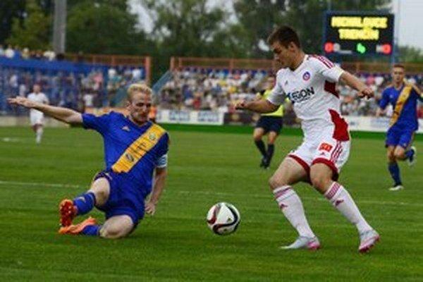 Michalovce hrali doma ligu s Trenčínom. Televízny prenos nevyrábali.