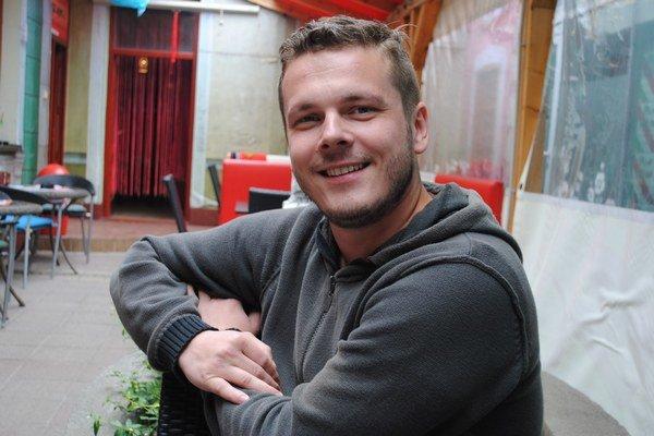 David Kollár. Prešovský gitarista.