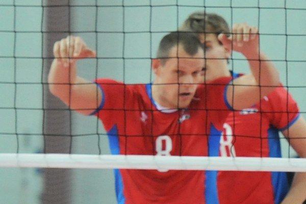 Michal Červeň v reprezentačnom drese.