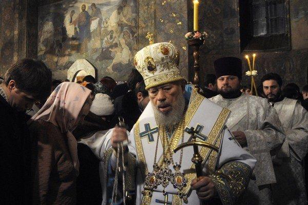 Kyjevský metropolita Vladimir skonal v sobotu.